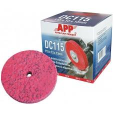 APP 06XC115 Абразивный диск для удаления старого покрытия 115x13x13мм (пурпурный)