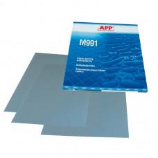 АРР 06MW1000 Бумага абразивная водостойкая Р1000 Matador991, синяя, 230х280мм