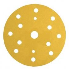 3М 50454 255P+ Hookit Шлифовальный круг, 150 мм, 15 отверстий, P500
