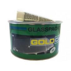 GOLD CAR Шпатлевка Glass Стектоволокно, 1,7 кг