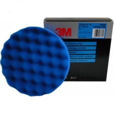 3М 50388 Поролоновый Полировальный Круг Perfect-It рельефный синий, диам. 150мм