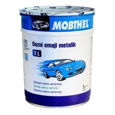 Автоэмаль металлик Черная Mobihel, 1л