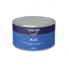 Solid Наполнительная, усиленная алюминием, полиэфирная шпатлевка Alu, 1,5 кг