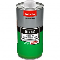 Novol THIN 880 Растворитель для жидкой шпатлёвки SPRAY, 0,5л
