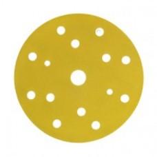 3М 50443 255P+ Hookit Шлифовальный круг, 150 мм, 15 отверстий, P80