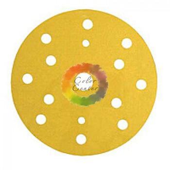 3М 50446 255P+ Hookit Шлифовальный круг, 150 мм, 15 отверстий, P150
