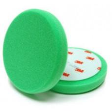 3М 50487 Зеленый поролоновый плоский полировальник, диам. 150 мм