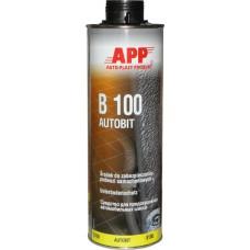 APP 050601 Средство для защиты автомобильных шасси , черное, 1л