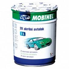 MOBIHEL Акриловая Автоэмаль 2К Снежно-Белая 202, 0,75л