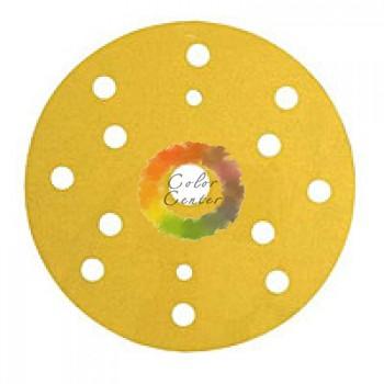 3М 50447 255P+ Hookit Шлифовальный круг, 150 мм, 15 отверстий, P180
