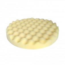 2472 Круг полировочный волнистый белый 150мм х 25мм WaveCut жесткий