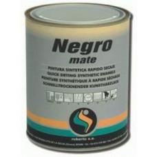 Краска Negro Mate Roberlo,  черная матовая 1л