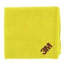 3М 50400 Желтая Ультромягкая  Антиголограммная Полировальная Салфетка Perfect-it III,  36 х 32 см