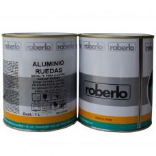 Aluminio ruedas Roberlo -Краска для дисков с металлическим алюминиевым блеском , 1л,