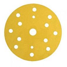 3М 50453 255P+ Hookit Шлифовальный круг, 150 мм, 15 отверстий, P400
