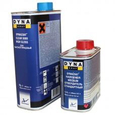 Dyna HS 5000 Лак акриловый бесцветный 1л + отв. 0,5л