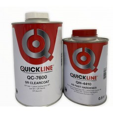 Quickline Лак 7600 1л + отв. быстрый 0,5 л