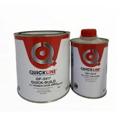 Quickline Quick-Build Грунт наполнитель 4:1 0,8л + отвердитель 0,2л (белый, серый, темно-серый)