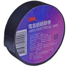3М Изолента  автомобильная универсальная виниловая, черная