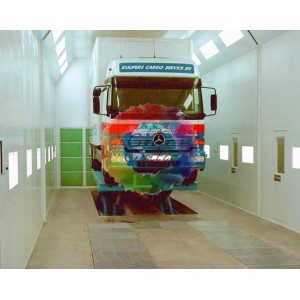 Особенности покраски грузовика