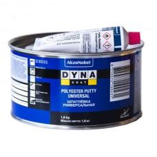 Dyna Шпатлевка Универсальная (Polyester Putty Universal)   + Отвердитель (Hardener), 1,8 кг